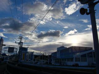 素晴らしい雲!!
