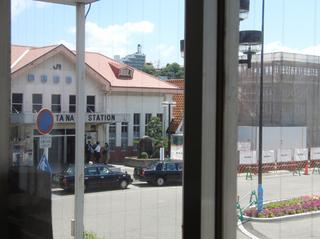 ステーションレストランから見てます〜