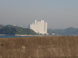 白浜のホテル?