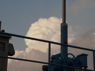 雲も見なアカンし