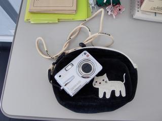 生徒の皆さんに使っていただくカメラです
