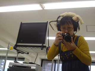 カメラレディを撮影してます〜〜