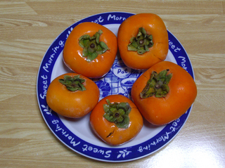 和歌山の美味しい柿!